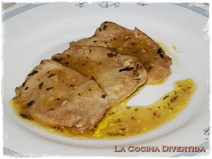 Solomillo de cerdo en salsa la cocina divertida for Salsa para solomillo