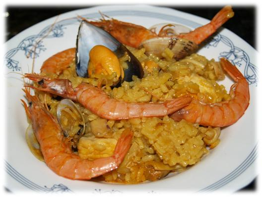 Pescados la cocina divertida - Paella de pescado ...