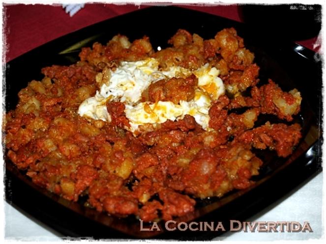 Jijas con huevo frito