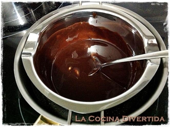 Hígado rebozado con patatas #diadeltrampantojo chocolate con manzana frita