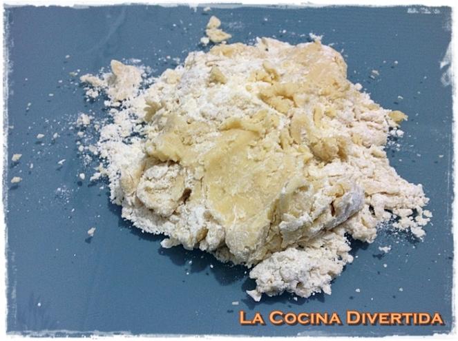 Galletas de mantequila con lacasitos