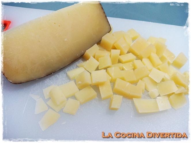 Empanadillas al horno de bacon y queso