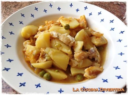 patatas con bacalao