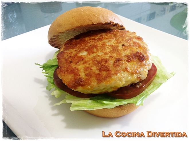 hamburguesa de pavo con queso