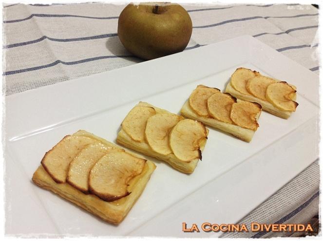 pastelitos de tarta de manzana