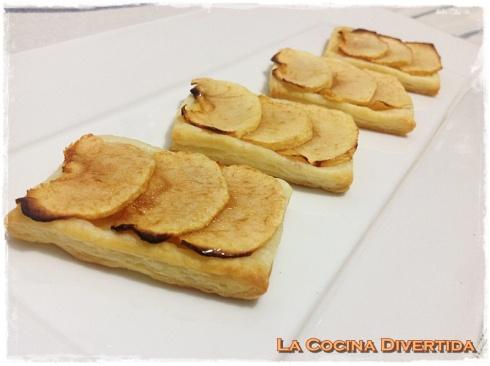 pastelillos de manzana