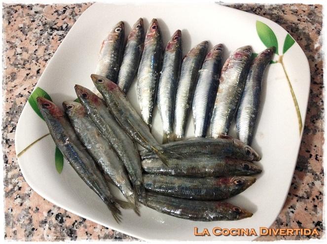 ensalada canonigos naranjas sardinas marinadas