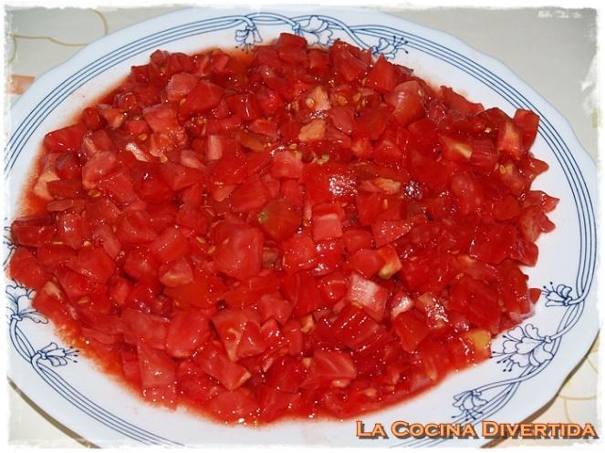 judias verdes con tomate frito casero