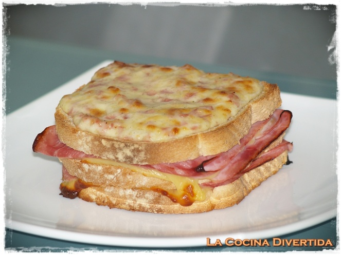 Sandwich croque-madame