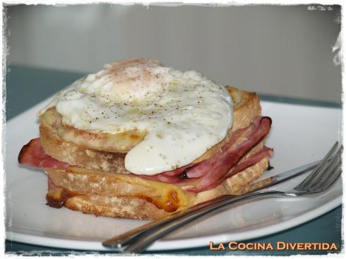Sandwich croque-madame