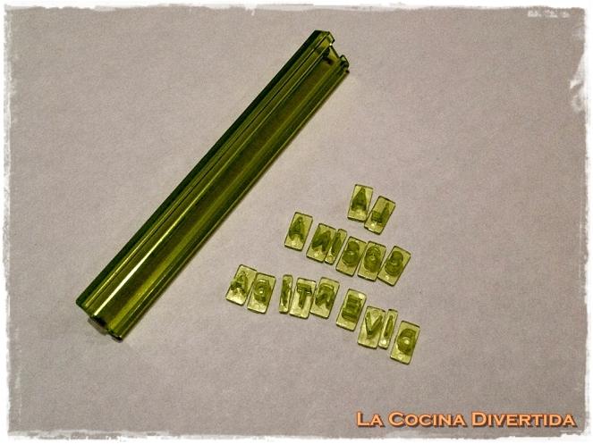 molde letras para galletas