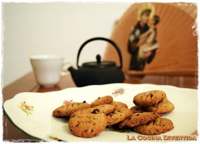 galletas de chocolate sin azúcar