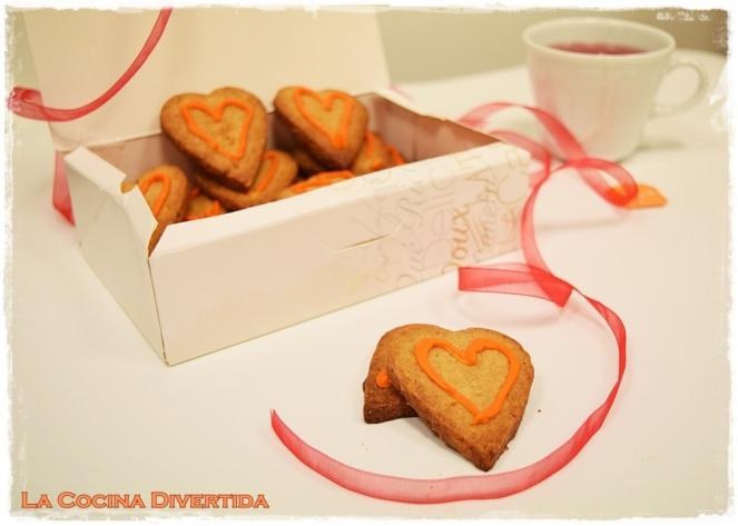 galletas de naranja canela y cardamomo san valentin