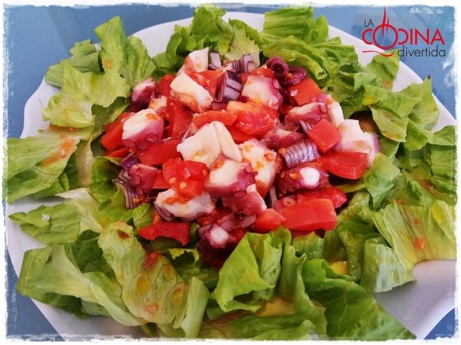 ensalada de pulpo salata od hobotnice