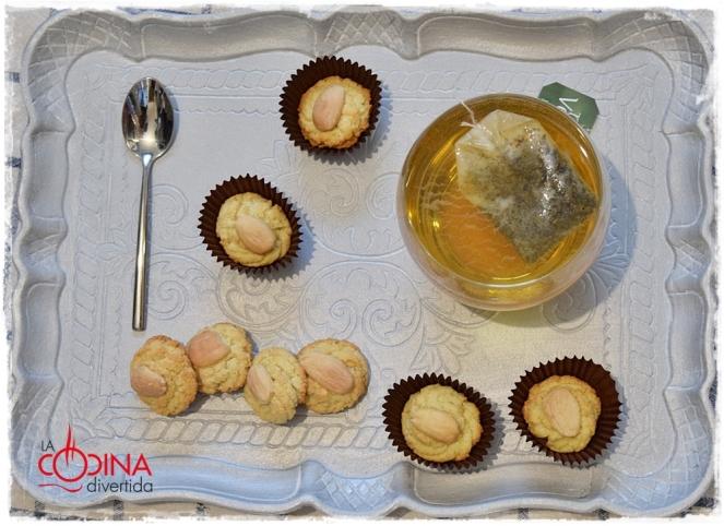 pastas de almendra sin gluten sin azúcar