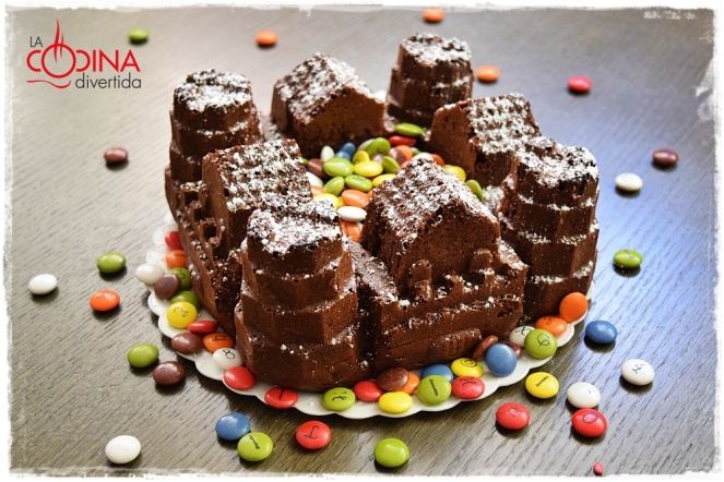 castillo de chocolate