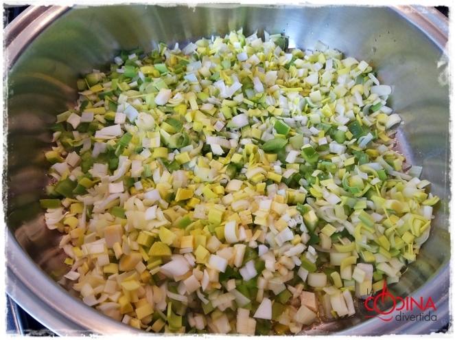 Patatas en salsa verde con gulas