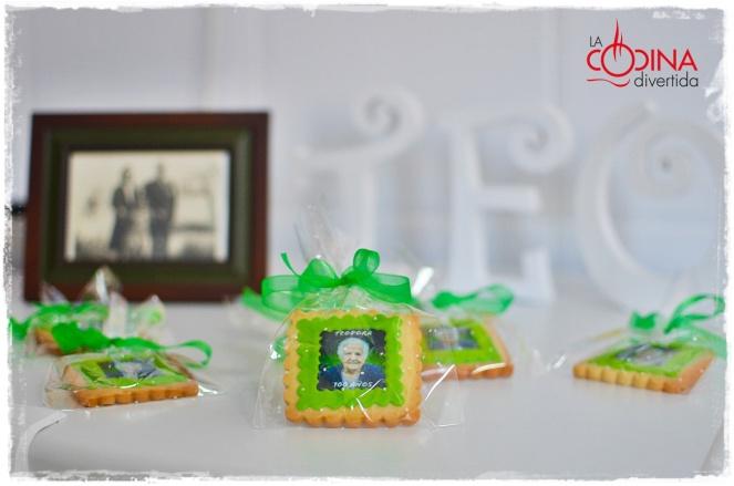 galletas Teo 100 cumpleaños