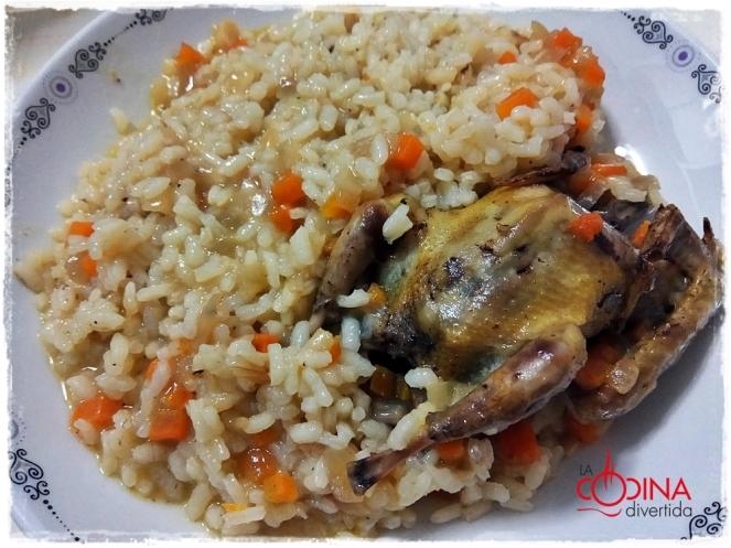 arroz con pichón de Tierra de Campos