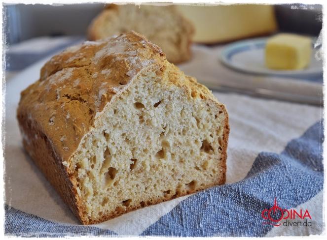 pan sin levadura (levadura quimica)