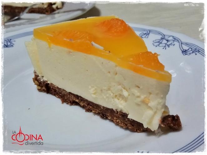 tarta de mandarina sin horno