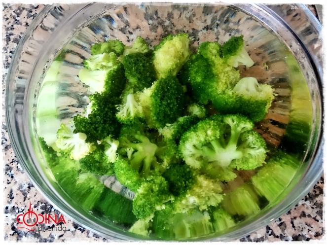 brocoli besamel queso