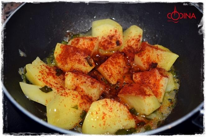 patatas con pulpo la cocina divertida