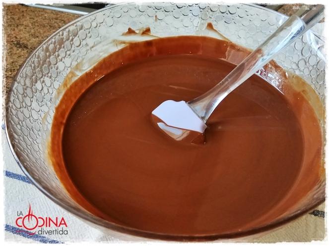 Turrón de chocolate casero